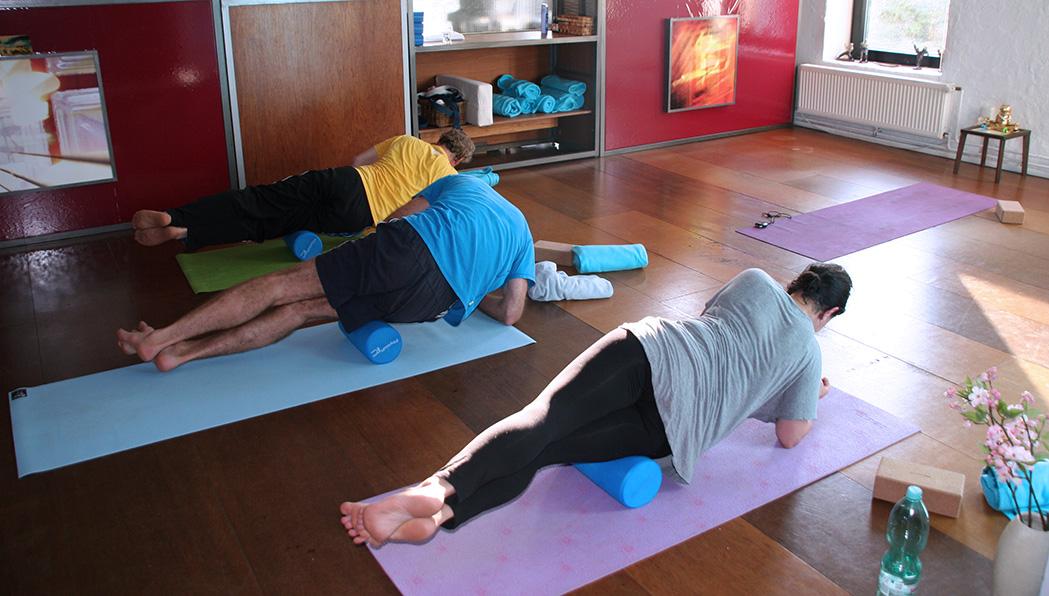 Yin Yoga mit Faszienrolle